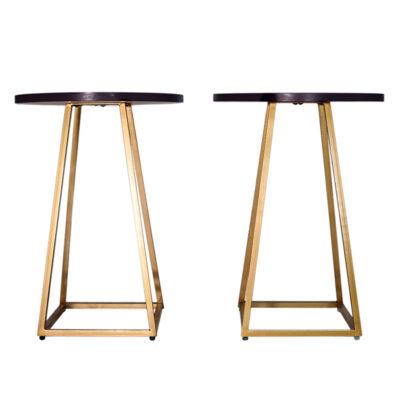 `Royal Purple` Side Tables (set of 2)