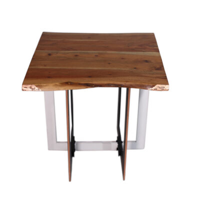 `Live Edge` Side Table