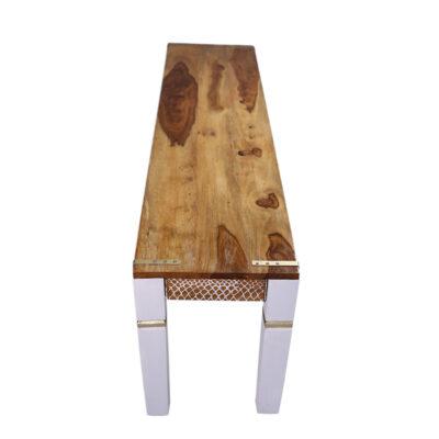 `White Lace` Long Bench