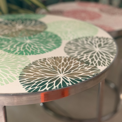 `Chrysanthemum` Side Tables (set of 2)