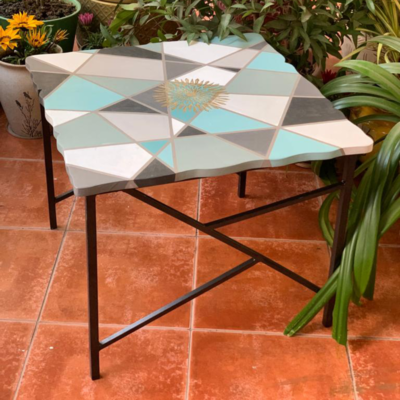 `Geometric` Small Occasional Table
