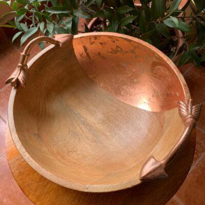 'Copper' Wood Bowl