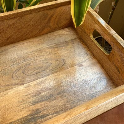 'Timber' Large Wood Tray