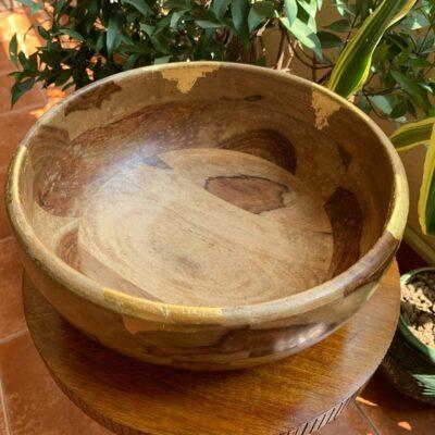 'Natural' Wood Bowl
