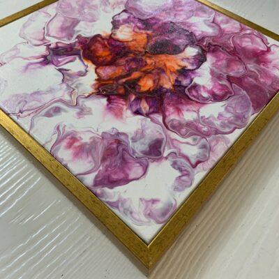 'Carnation#1' Acrylic Painting on Canvas