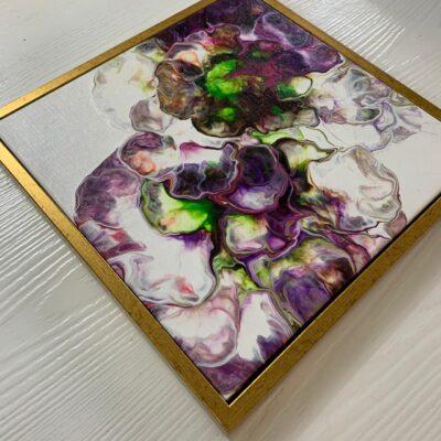 'Carnation#3' Acrylic Painting on Canvas