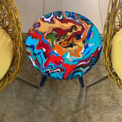 'Reflection' Round Side Table