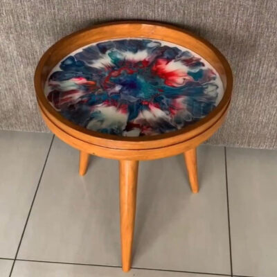 'Vivid' Round Side Table