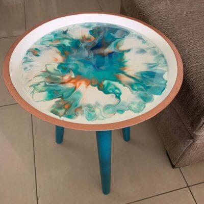 'Minimal' Round Side Table