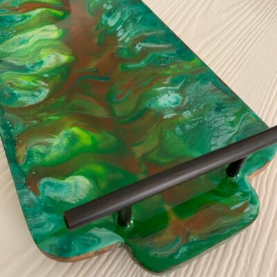 'Enchanted forest' Wood Serving Epoxy Resin Tray