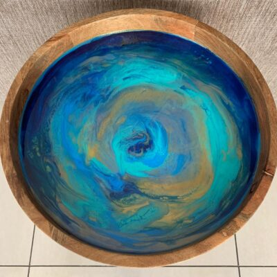 'Lagoon' Round Side Table